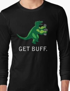 Curlzilla GET BUFF Long Sleeve T-Shirt