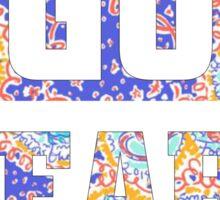 Go Bears Sticker