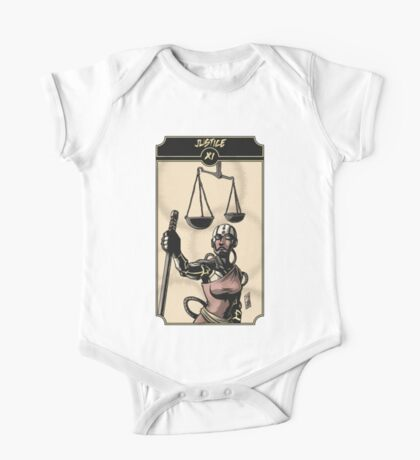 Justice - Sinking Wasteland Tarot One Piece - Short Sleeve