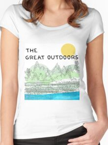 The Great Outdoors Women's Fitted Scoop T-Shirt