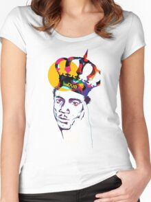 King Tubby's Hi - Fi Women's Fitted Scoop T-Shirt