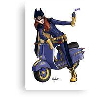 Batgirl takes a selfie. Canvas Print
