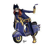 Batgirl takes a selfie. Photographic Print