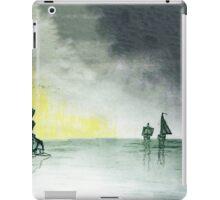 Sailing off the Coast iPad Case/Skin