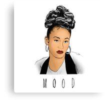 Selena Mood in Color Canvas Print