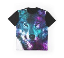 Wolf - The Pack & Night life Graphic T-Shirt