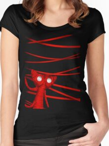 Unravel the strings Women's Fitted Scoop T-Shirt