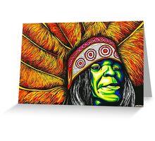 Big Chief Greeting Card