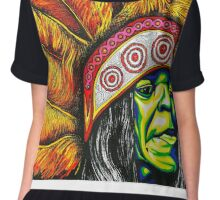 Big Chief Chiffon Top