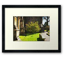 Springtime in Llandaff Framed Print