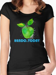 Hendo.Today Apple Women's Fitted Scoop T-Shirt