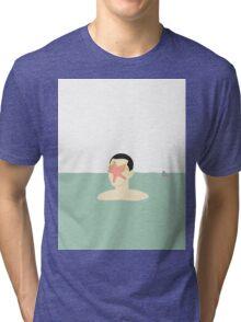 EN SMUK DAG PÅ HAVET (... a beautiful day at sea!) Tri-blend T-Shirt