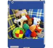 Eddie's Toys - sit on settee in Family room iPad Case/Skin