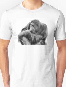 Orangutan in Black & White Unisex T-Shirt