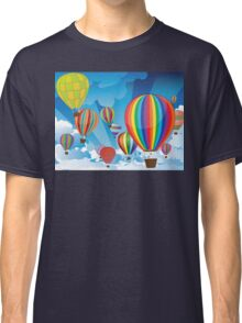 Air Balloons in the Sky 3 Classic T-Shirt