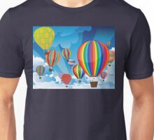 Air Balloons in the Sky 3 Unisex T-Shirt
