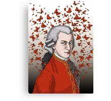 Wolfgang Amadeus Mozart Canvas Print