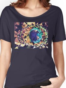 Colorful Geometric Abstraction Women's Relaxed Fit T-Shirt