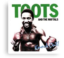 Toots And The Maytals : Knock Out ! Canvas Print