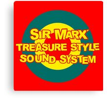 Sir Max Soundsystem  Canvas Print