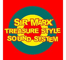 Sir Max Soundsystem  Photographic Print