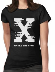 X Marks the Spot Womens Fitted T-Shirt