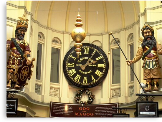 Royal Arcade's Gog and Magog by Peter Krause