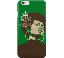 Phyllis Dillon : The Queen Of Rocksteady iPhone Case/Skin