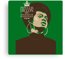 Phyllis Dillon : The Queen Of Rocksteady Canvas Print