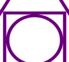 Philosopher's Stone Alchemy symbol Sticker
