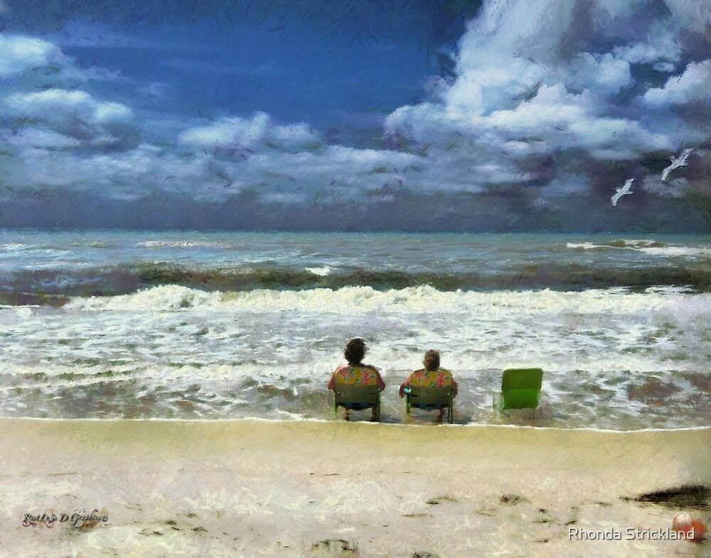 Lifes a Beach  by Rhonda Strickland