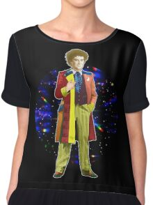 The 6th Doctor - Colin Baker Chiffon Top