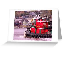 Returning To Port Greeting Card