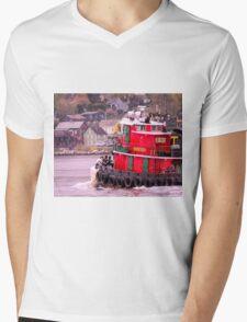 Returning To Port Mens V-Neck T-Shirt