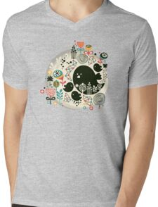 Big bird Mens V-Neck T-Shirt