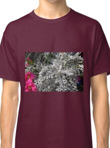 Green plants and flowers in the park. Classic T-Shirt
