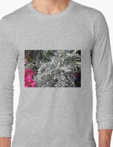 Green plants and flowers in the park. Long Sleeve T-Shirt