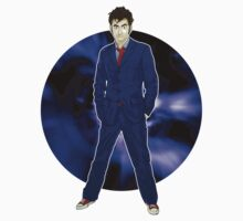 The 10th Doctor - David Tennant One Piece - Long Sleeve