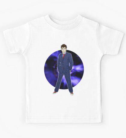 The 10th Doctor - David Tennant Kids Tee