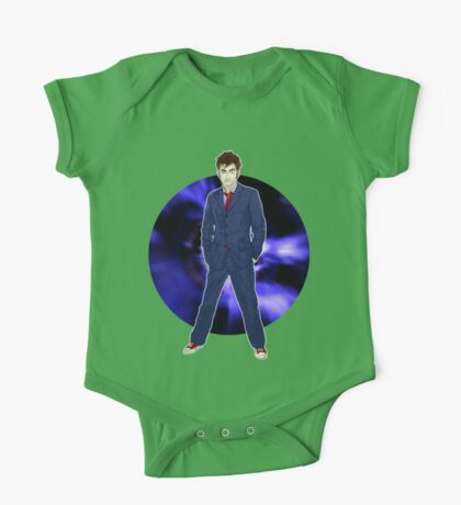 The 10th Doctor - David Tennant One Piece - Short Sleeve