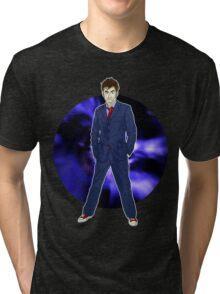The 10th Doctor - David Tennant Tri-blend T-Shirt