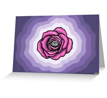 Indigo Rose Greeting Card