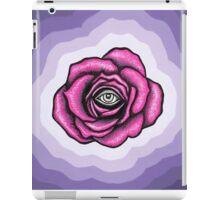 Indigo Rose iPad Case/Skin