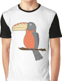 Bright Toucan Vector Illustration Graphic T-Shirt