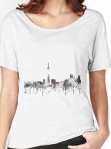 Toronto, Ontario Skyline - CRISP Women's Relaxed Fit T-Shirt