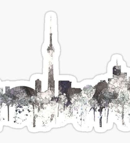 Toronto, Ontario Skyline - CRISP Sticker