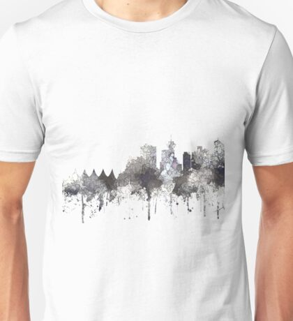 Vancouver, BC, Canada Skyline - CRISP Unisex T-Shirt