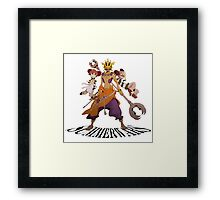 Summer Wars Love Machine Framed Print