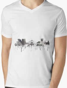 Winnipeg, Manitoba, Canada Skyline - CRISP Mens V-Neck T-Shirt