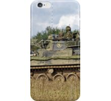 A British Army Warrior Infantry Fighting Vehicle iPhone Case/Skin
